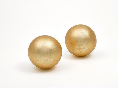 Deco Ball Matt Gold