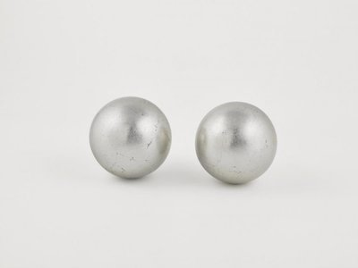 Deco Ball Metal Silver