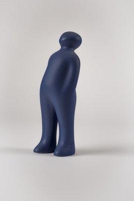 The Visitor - COR-40-Blue indigotina black