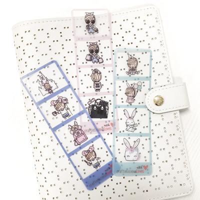 PVC bookmark