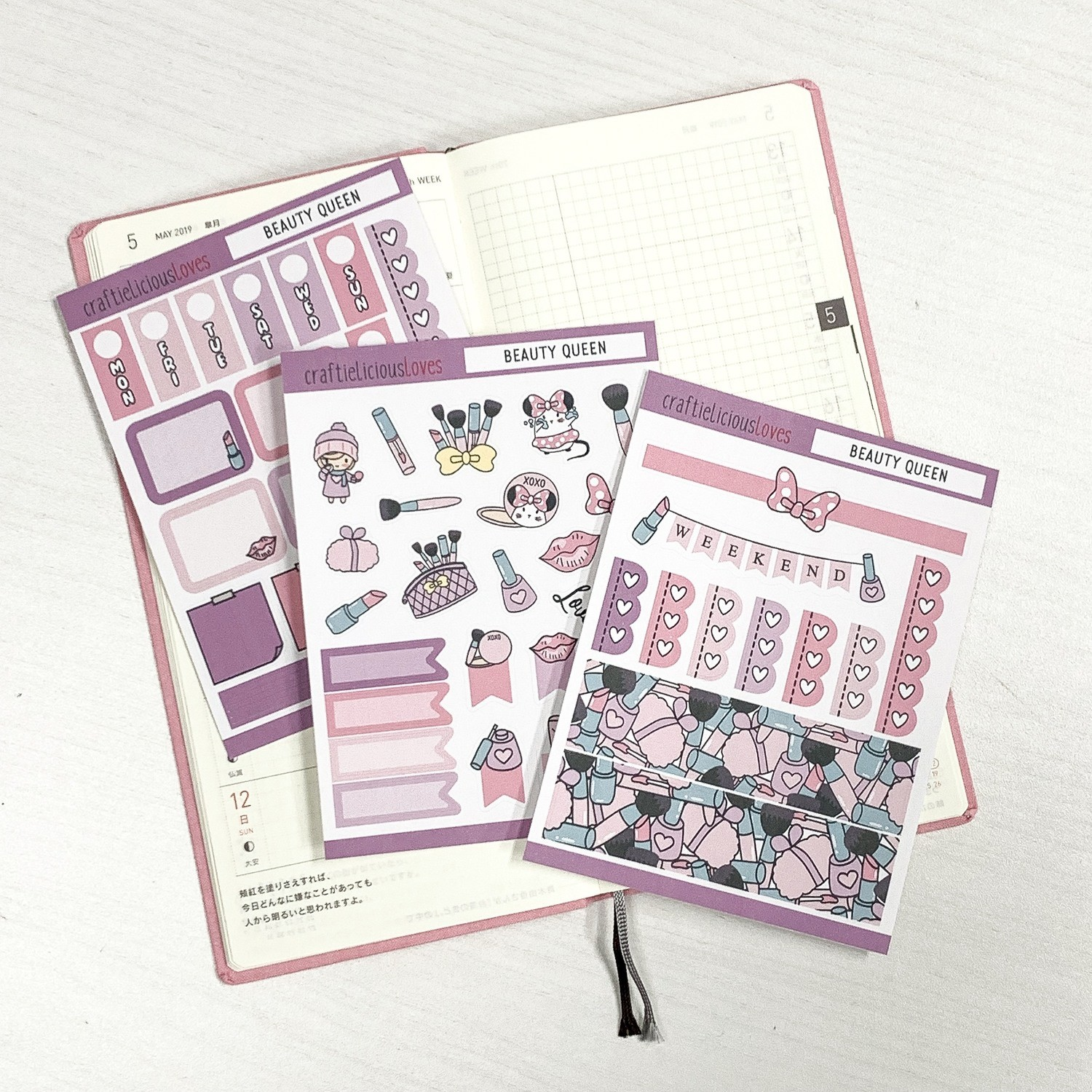Hobonichi Kit (Beauty Queen)