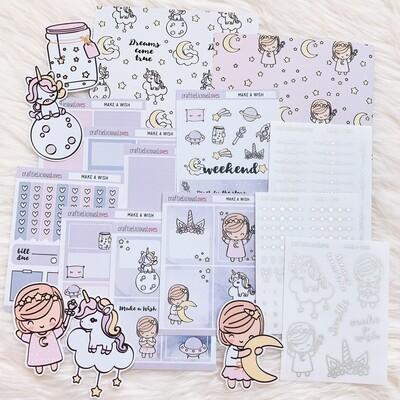 Make a Wish Sticker Kit