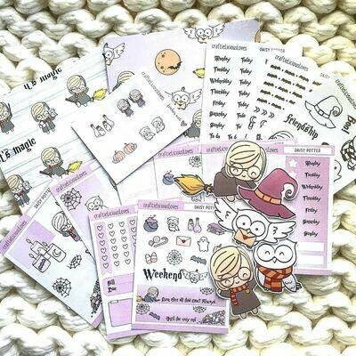 Daisy Potter Sticker Kit