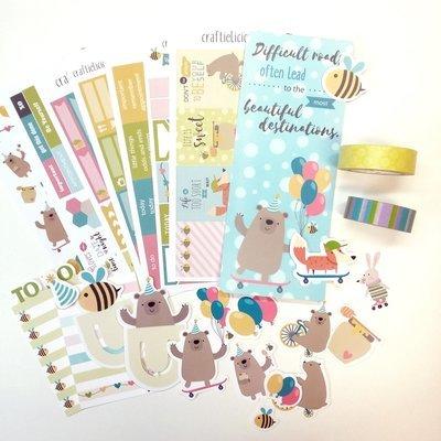 February subscription kit (Happy Honey Bear)