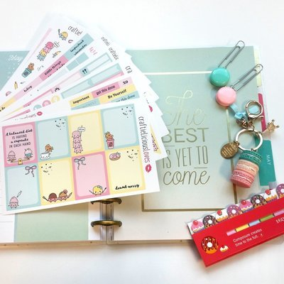 November subscription kit (Dessert love)