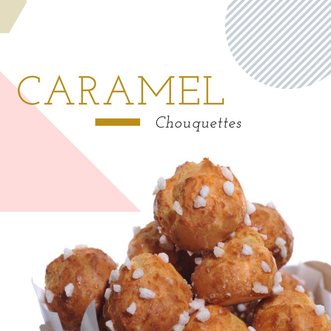 Chouquette - Caramel (10pcs)  小泡芙 - 焦糖味
