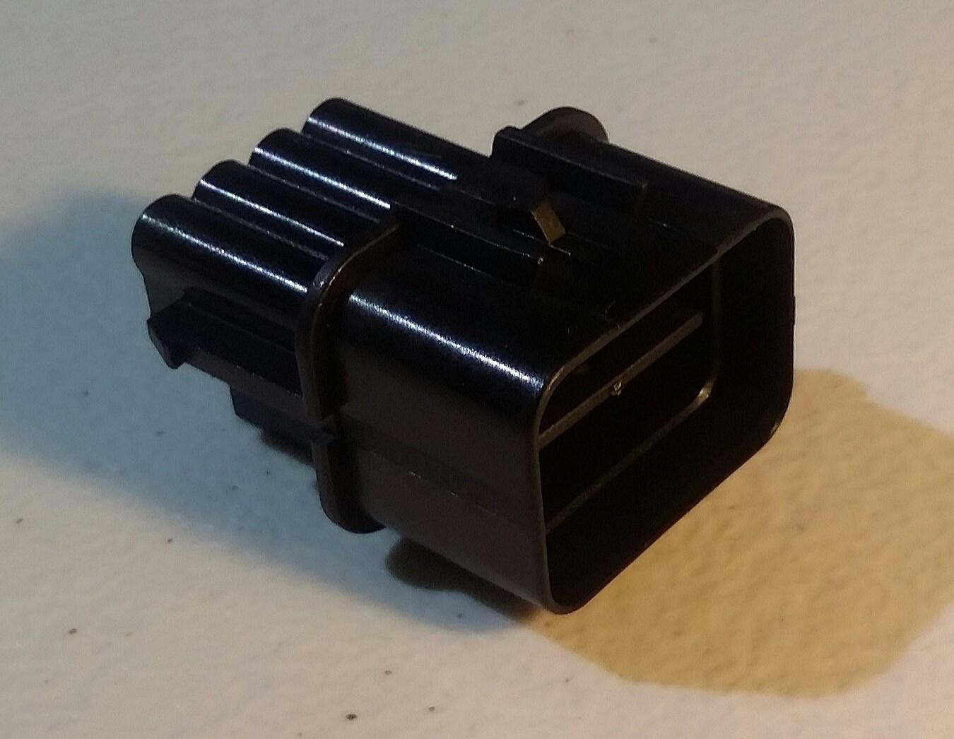 Headlight Connector 8 pin EVO 7-9 (CT9A) Male