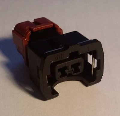 Mitsubishi EVO Fuel Injector Connector (Female)