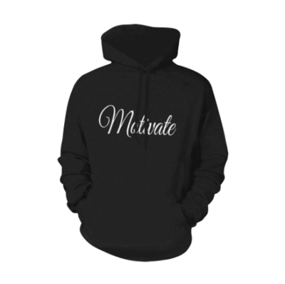 """TICKETtv """"MOTIVATE"""" HOODIE (FULL PRINT FRONT AND BACK)"""