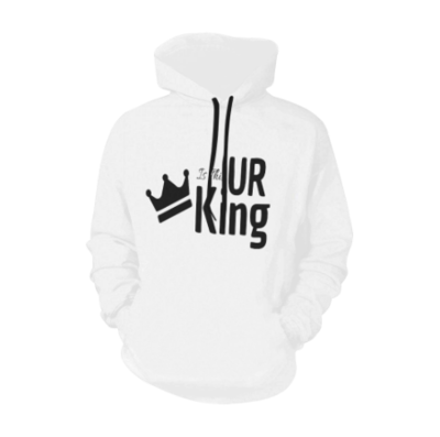 """TICKETtv """"IS THIS UR KING"""" HOODIE (FULL PRINT FRONT AND BACK)"""