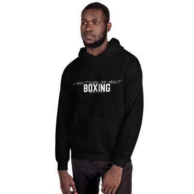 TTV U DON'T KNOW ISH ABOUT BOXING (WHITE PRINT) HOODIES
