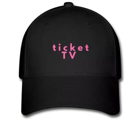 TICKETtv LADIES Baseball Cap (VARIETY)