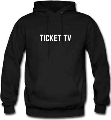 TICKETtv Heavy Blend Hooded Sweatshirt