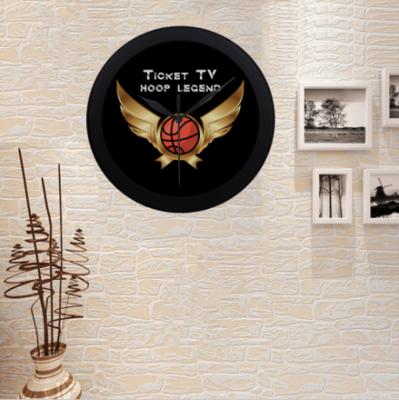 TICKETtv HOOPS LEGEND CUSTOM WALL CLOCK