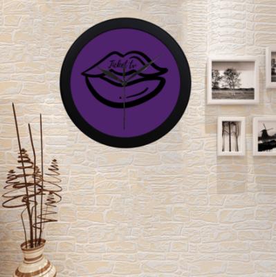 TICKETtv KISS CUSTOM WALL CLOCK