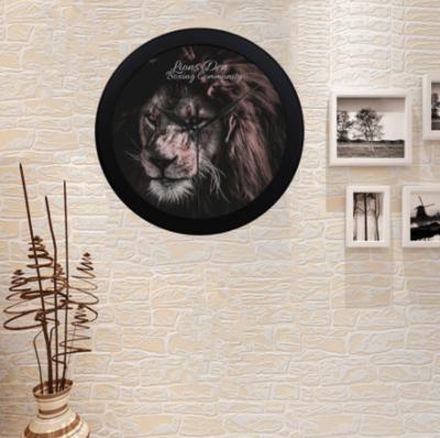 LIONS DEN BOXING COMMUNITY LION WALL CLOCK