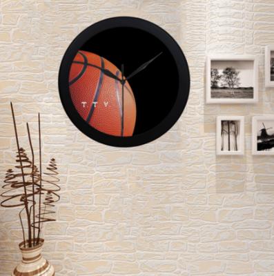 TICKETtv HOOPS WALL CLOCK