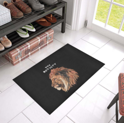 TICKETtv ROYALTY CUSTOM DOORMAT