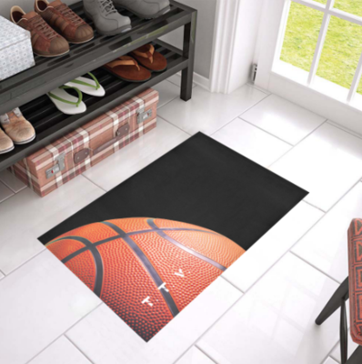 TICKETtv HOOPS CUSTOM DOORMAT