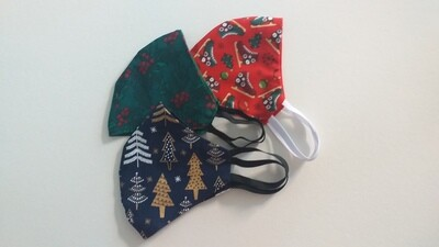 Christmas special set of 3 face masks