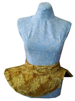 Silk flower belt