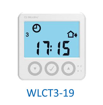 OJ Electronics WLCT3-19 Waterline / Microline Programmable Clock Room Thermostat Underfloor Heating 5v Rehau