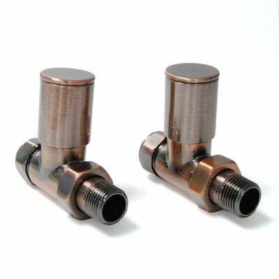 Essential Manual Straight Valve in Antique Copper finish