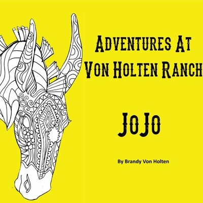 Adventures At Von Holten Ranch -JoJo - Children's Book