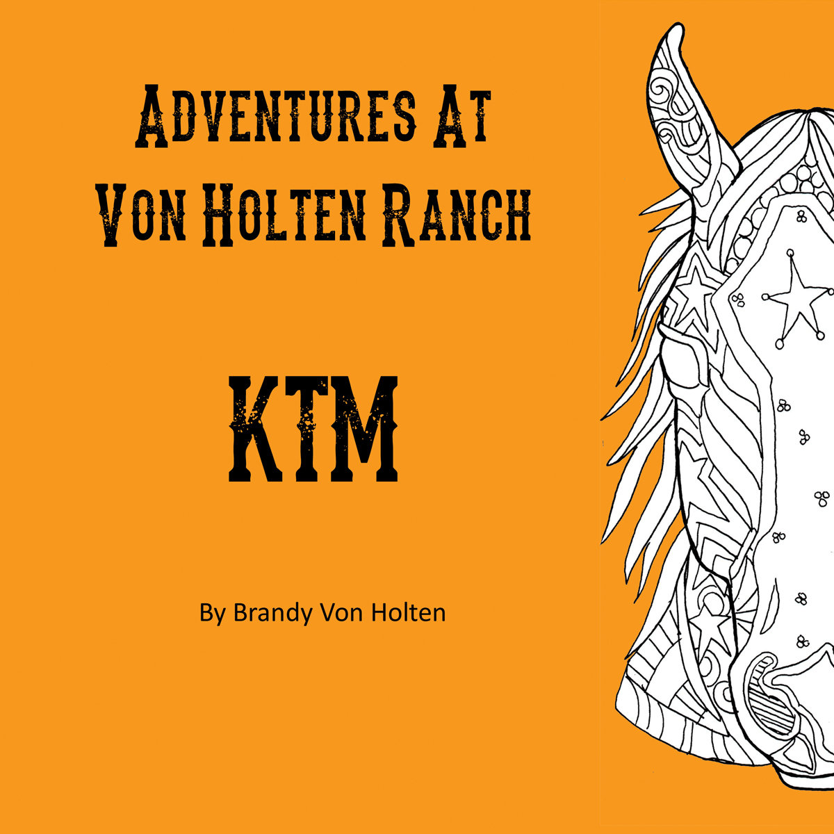 Adventures At Von Holten Ranch - KTM - Children's Book