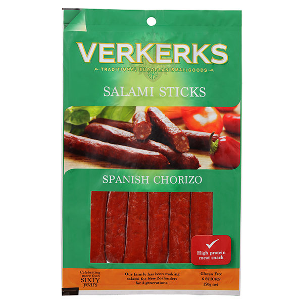 Spanish Chorizo Salami Sticks 150gm