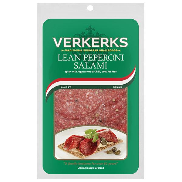 Lean Peperoni Salami 100gm