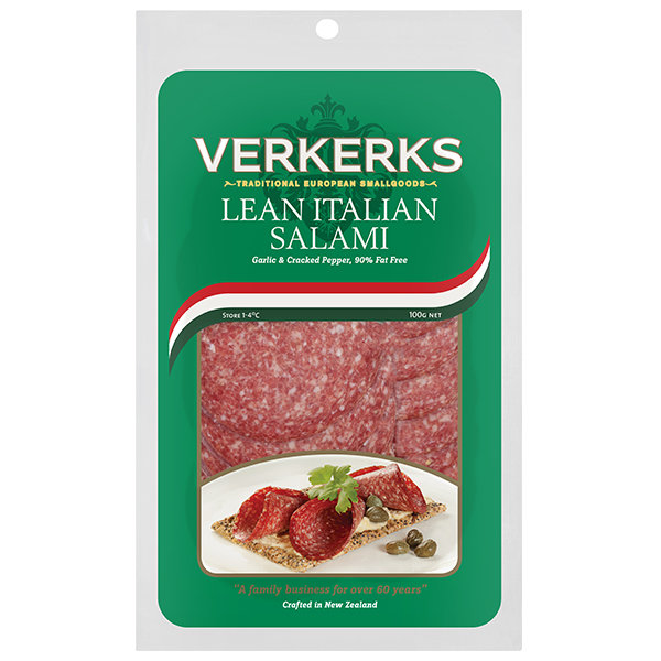 Lean Italian Salami 100gm
