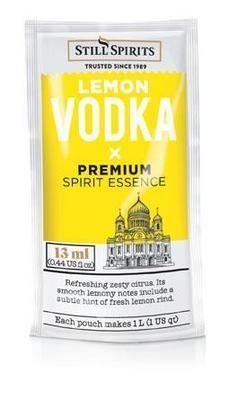 Still Spirits Pure Vodka - Lemon 9ml Sachet