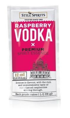 Still Spirits Pure Vodka - Raspberry 12ml Sachet