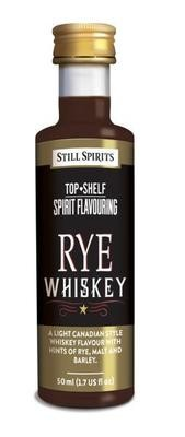 Still Spirits Top Shelf Rye Whiskey
