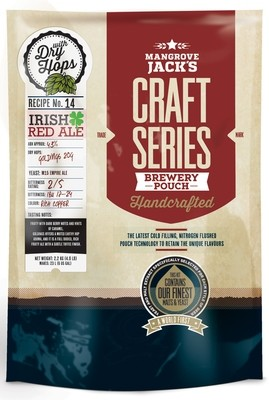 Mangrove Jack's Craft Series Irish red ale with dry hops - 2.5kg