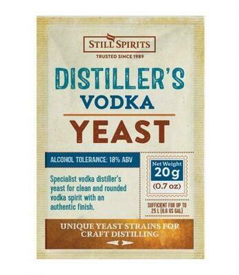Distiller's yeast Vodka