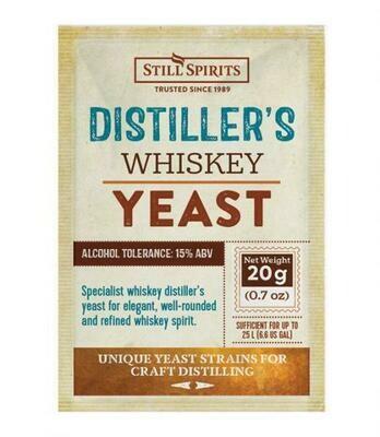 Distiller's yeast Whiskey