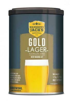 Mangrove Jack's Australian Gold Lager 1.7kg