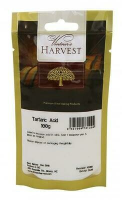 Vintner's Harvest Tartaric Acid 100g
