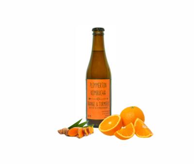 Orange & Turmeric Kombucha 12 pack