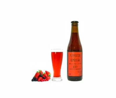 Berry Kombucha 12 pack