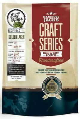 Mangrove Jack's Craft Series Golden Lager + dry hops