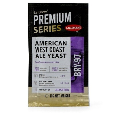 BRY 97  American West Coast Ale Yeast - Lallemand