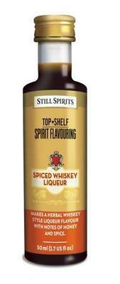 SS Top Shelf Spiced Whiskey Liqueur