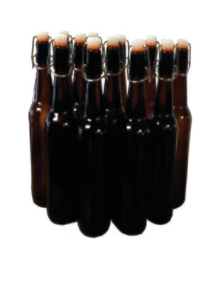 Mangrove Jack's Flip Top Bottle 750ml Amber - Box of 12