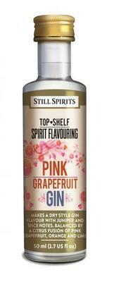Still Spirits Top Shelf Pink Grapefruit Gin