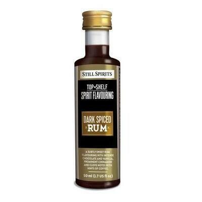 Still Spirits Top Shelf Spiced dark rum 50ml