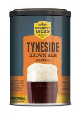 Mangrove Jack's International Tyneside Brown Ale Beerkit 1.7