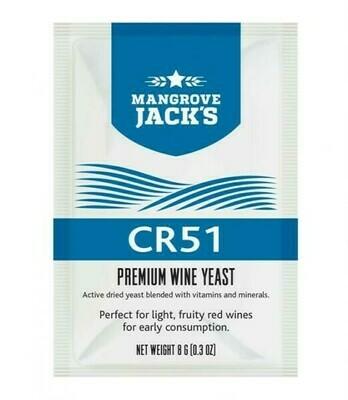 CR51 Red Wine Yeast 8g
